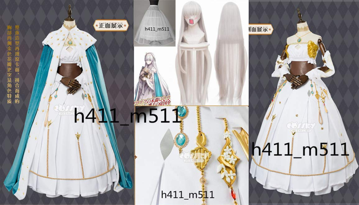 Fate Order/Grand Order FGO 皇女アナスタシアコスプレ衣装+ウィッグ 女S FGO/M/L Fate/Grand/XL B07LC7MKSR, 唐津市:95a53a46 --- rigg.is