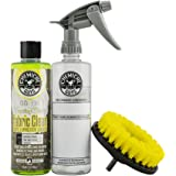 Chemical Guys HOL315 Foaming Citrus Fabric Clean Carpet and Upholstery Cleaning Kit with Drill Brush and Spray Bottle (3 Item