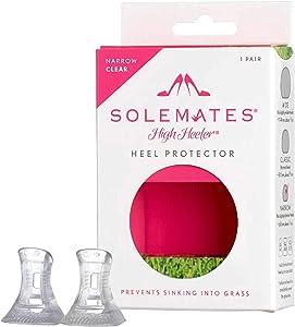 Solemates High Heel Protectors (Clear, Narrow)