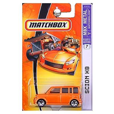 Matchbox 2008 MBX Metal 2004 Scion xB Hot Lava Orange Copper Release Series: Toys & Games