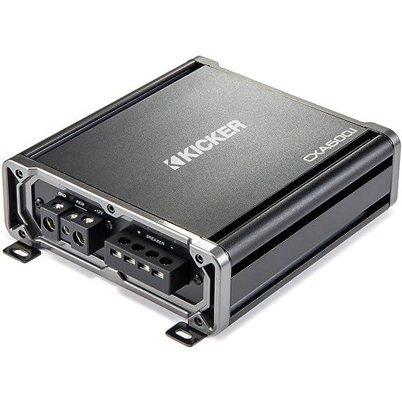 Amazon com: Kicker 43CXA6001 Sub Amplifier CXA600 1 Mono Amp