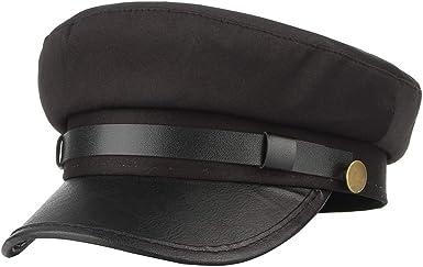 Size 58cm Black chauffeur style hat