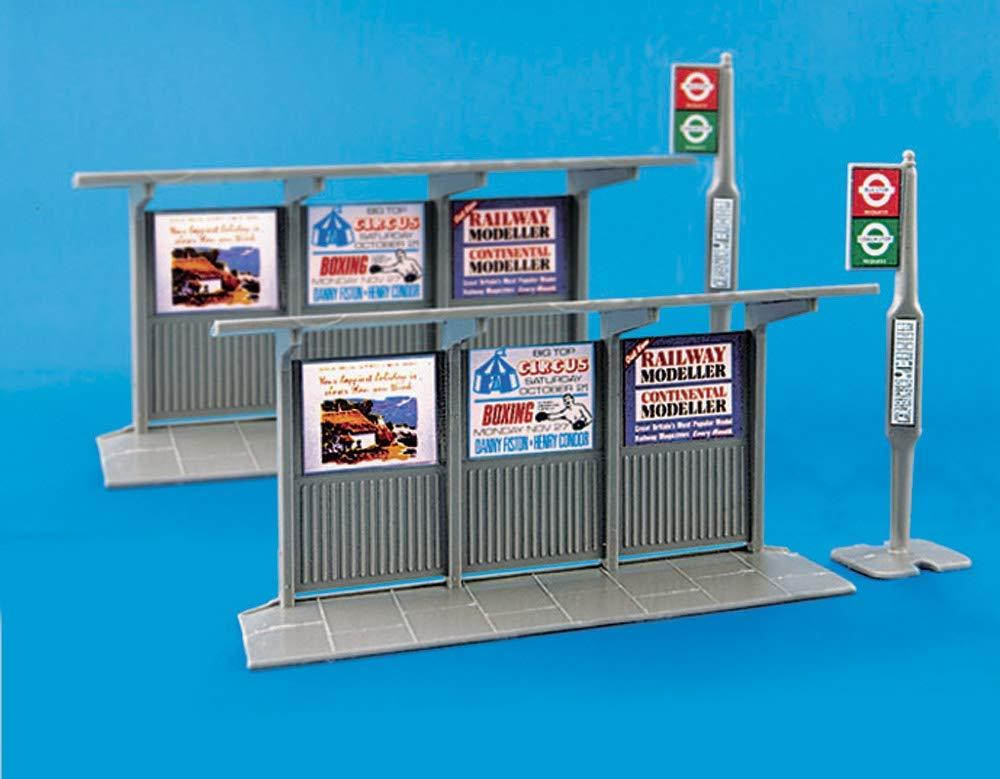 Model Scene OO Bus Stop /& Shelter