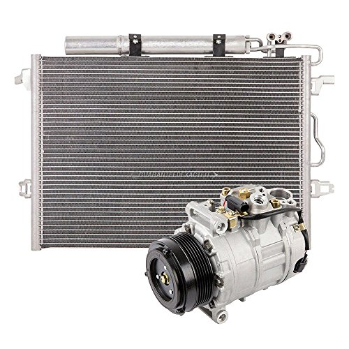 Ac Mercedes Compressor Benz (Brand New AC Compressor + A/C Condenser and Drier for Mercedes CLS & E Class - BuyAutoParts 60-86938R3 New)