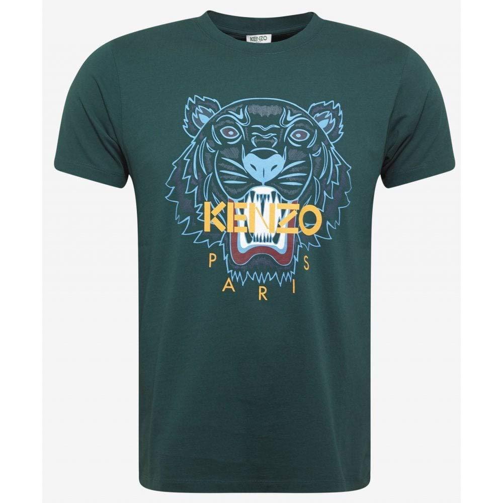 Vert M Kenzo T-Shirt Classic Tigre Vert