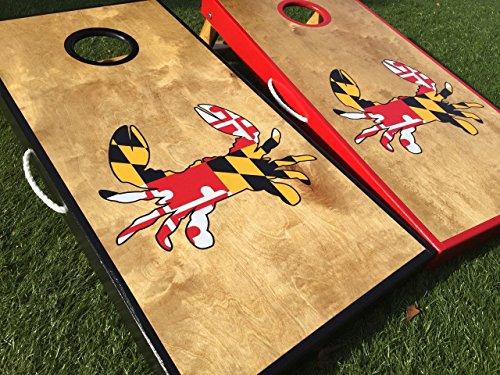Maryland Crab Custom Cornhole Board Set by West Georgia Cornhole