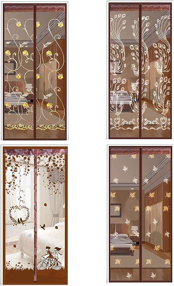 HEREB Mosquitera Puerta Magnetica Transparente Mosquitera BalcóN Puerta Corredera: Amazon.es: Bricolaje y herramientas