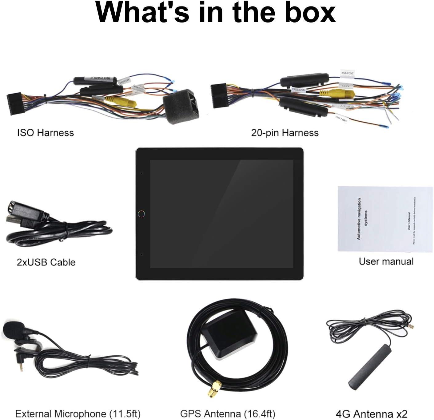 64 GB Bluetooth-Untersttzung fr zlink und Android Auto Joyforwa ...
