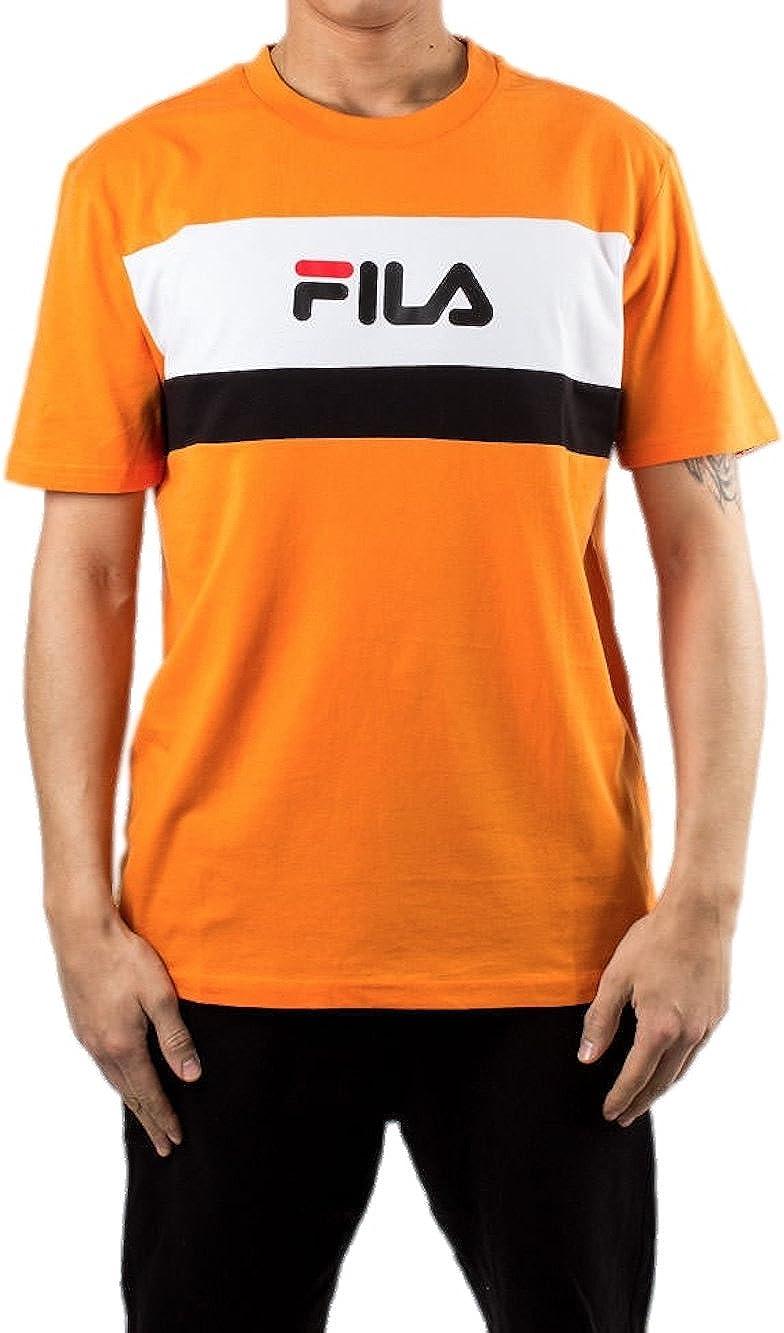 Fila Camiseta - para Hombre Naranja Naranja Talla de la Marca 52: Amazon.es: Ropa y accesorios