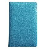 Glitter Server Book for Waitress Book Server Wallet Waiter Book Cute Bling Waitstaff Organizer Fit Waitress Apron (Blue Green Teal Turquoise)
