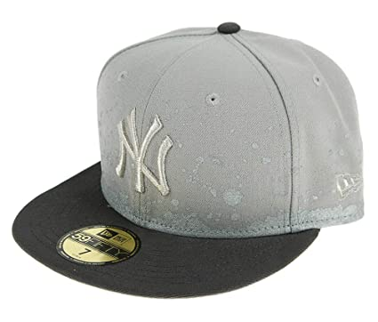A NEW ERA Mujeres Gorras/Gorra Plana FL Pannel Splatter York Yankees 59Fifty: Amazon.es: Ropa y accesorios