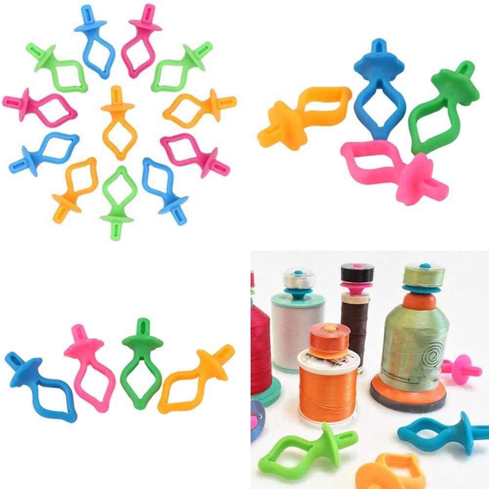 pinces en plastique pour broderie Lot de 48 accessoires de couture bobines de fil pour bobines matelassage et d/étente