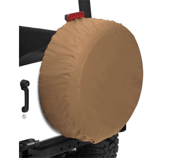 Bestop 61035-35 Black Diamond XXX-Large Tire Cover for tires 35 diameter 14 deep 14 deep
