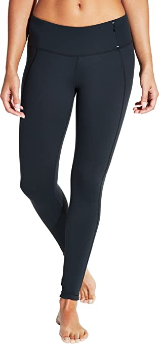 CALIA by Carrie Underwood Women's Essential Crossover Leggings, (Caviar, ...