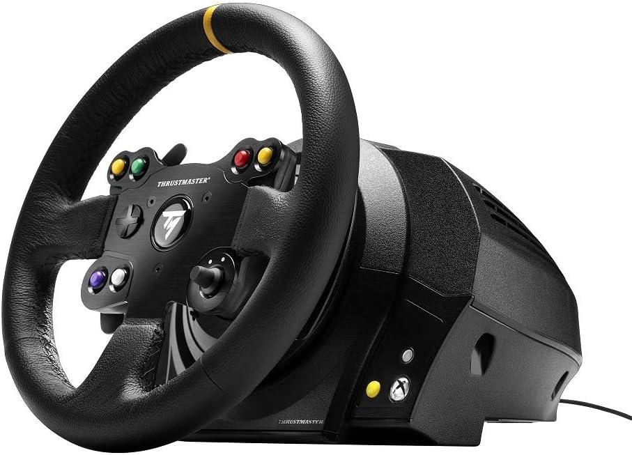 Thrustmaster TX Racing Wheel Leather Edition (Wheel incl. 3-Pedalset, Xbox One / PC): Amazon.es: Videojuegos