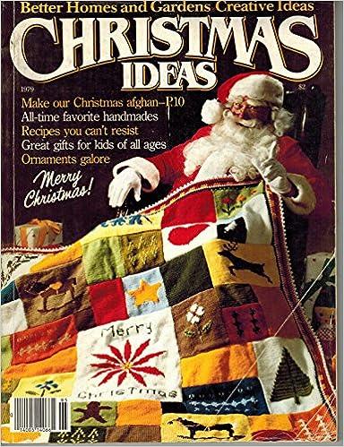 Christmas Ideas Better Homes And Gardens 1979 Better Homes And Gardens Creative Ideas Better Homes And Gardens Amazon Com Books