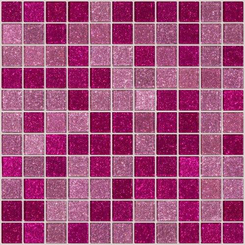 Susan Jablon Mosaics - Pink Glitter
