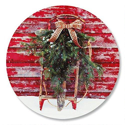 (Vintage Holiday Christmas Envelope Seals -Set of 144)