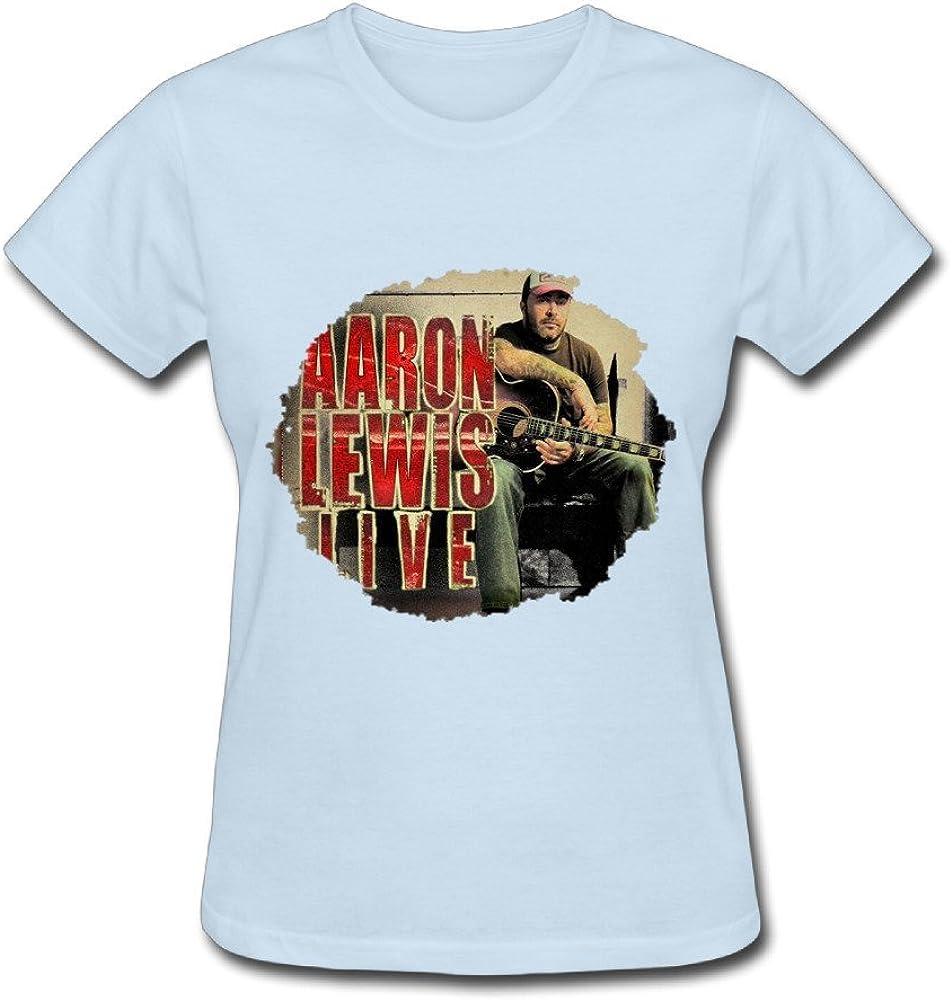 Aaron Lewis foto T camisas para mujer: Amazon.es: Ropa y accesorios