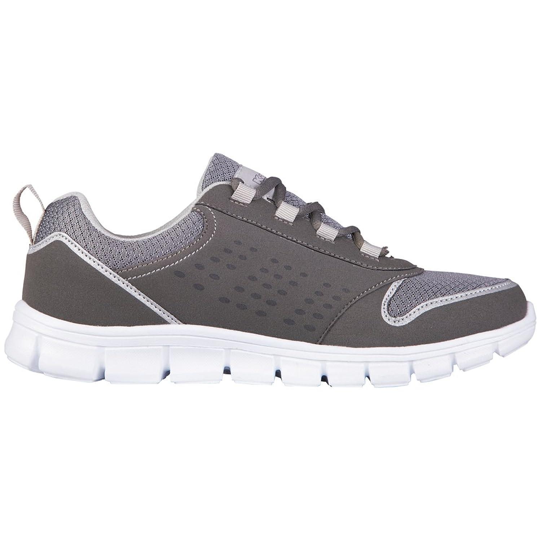 Amora Footwear Unisex - Zapatilla Deportiva de Material sintético Unisex Adulto, Color Gris, Talla 40 Kappa