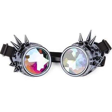 Yangjing-hl Caleidoscopio Gafas de Colores Fiesta delirio ...