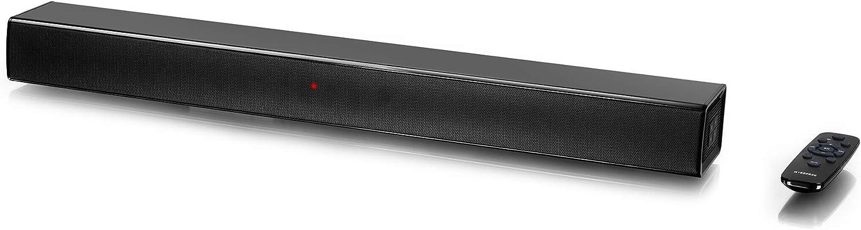 Barra DE Sonido INFINITON SB-K100 (Bluetooth, Conexion Optica, USB, Cine en casa, Altavoz para TV) (100W)