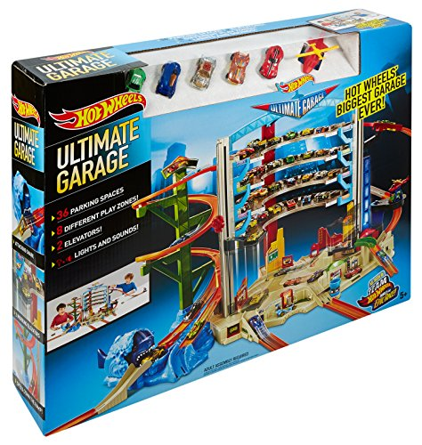 Hot Wheels Ultimate Garage Playset