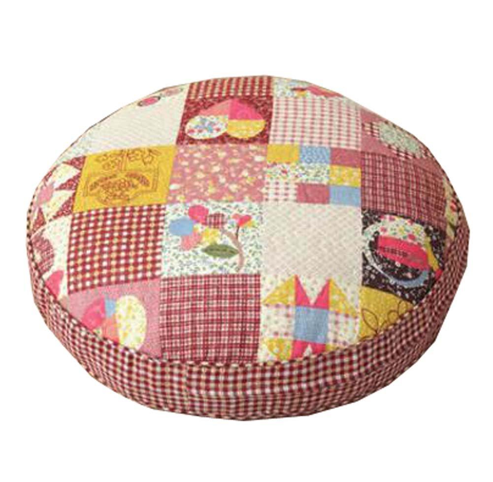 床枕厚みクッションJapanese Futonラウンドシートクッション21.6