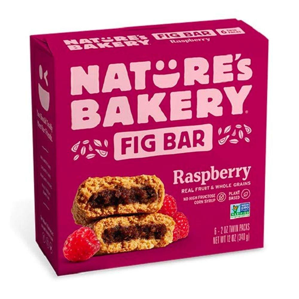 Nature's Bakery Raspberry Fig Bars, 2 oz, 6 ct