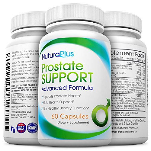 Formula Support Premium Prostate - Premium Prostate Supplement – Natural Formula Supports Prostate Health, Improves Urinary Function & Boosts Male Intimate Health. 1 Months Supply - Saw Palmetto, Beta Sitosterol & Stinging Nettle
