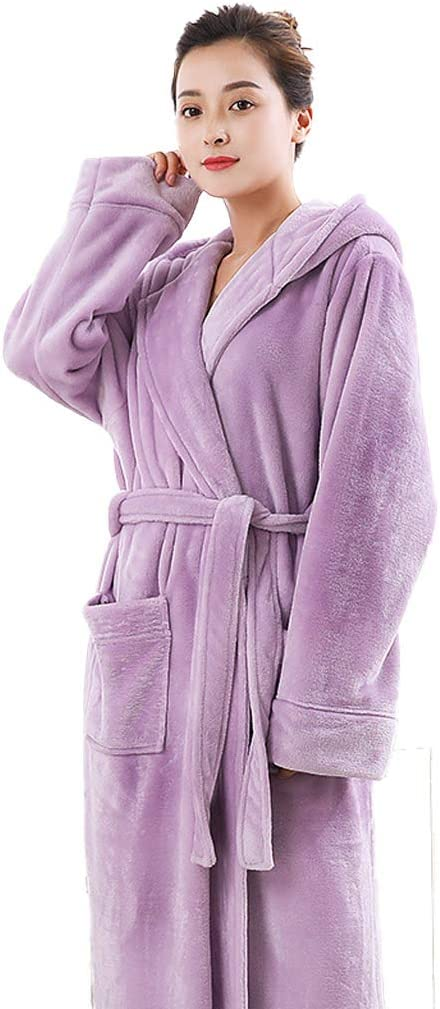 Robe Fleece Long Wrap with ties Made in USA Great Gift!!