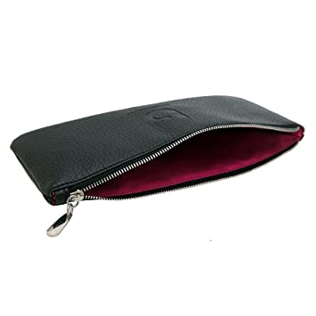 makeup brush bag. pro makeup brush case: cosmetic bag or holder for purse travel, large e