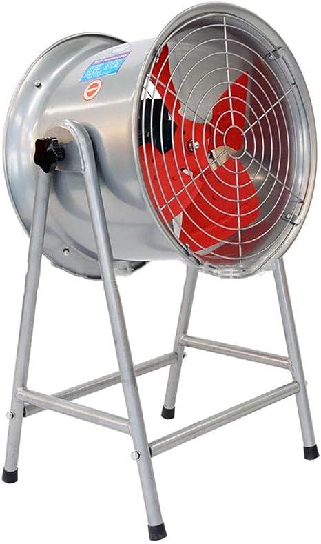 Ventiladores Industriales Ventilador de enfriamiento de oscilación Industrial/Ventilador de Piso de Alta Potencia Silencio / 4 aspas del Rotor Ventilador de Pedestal Grande, Base Extra Ancha: Amazon.es: Hogar