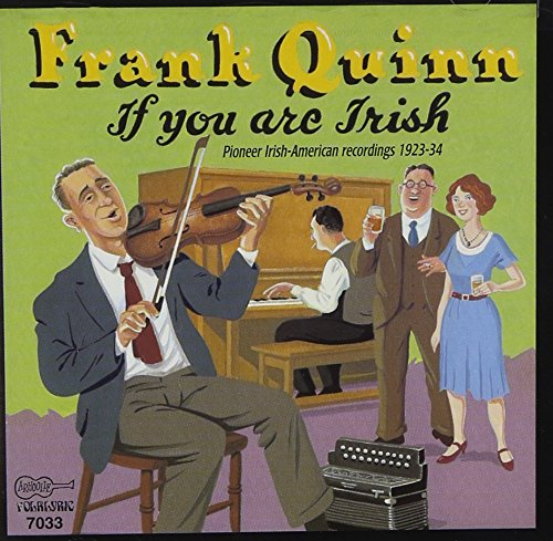 If You Are Irish -  FRANK QUINN, Audio CD
