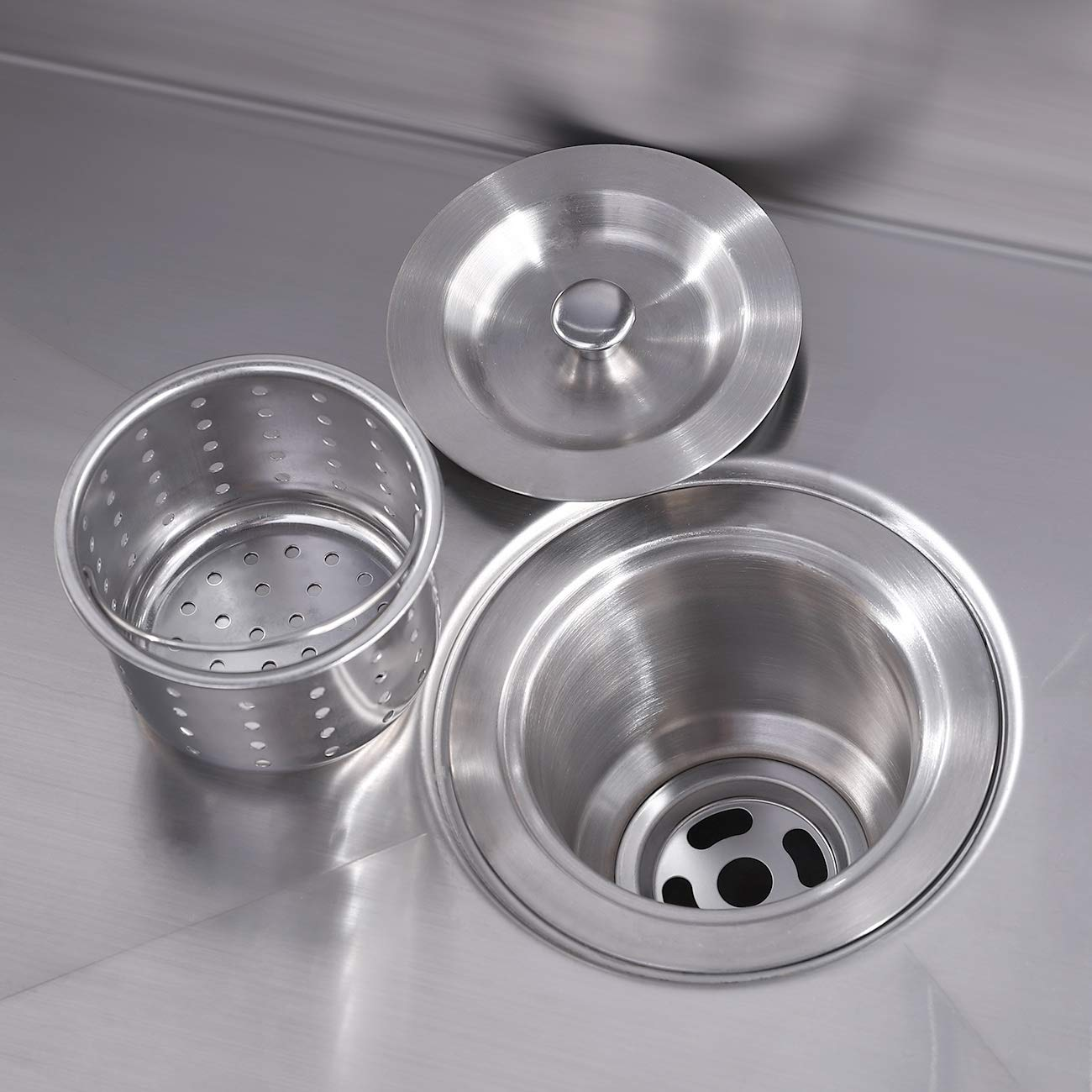 Kes Kitchen Sink Drain Stopper 3 1 2 Inch With Basket Strainer