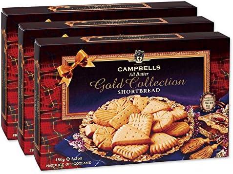 キャンベル (CAMPBELLS) アソート ショートブレッド3箱【イギリス ロンドン おみやげ(お土産) お土産 輸入食品 スイーツ】