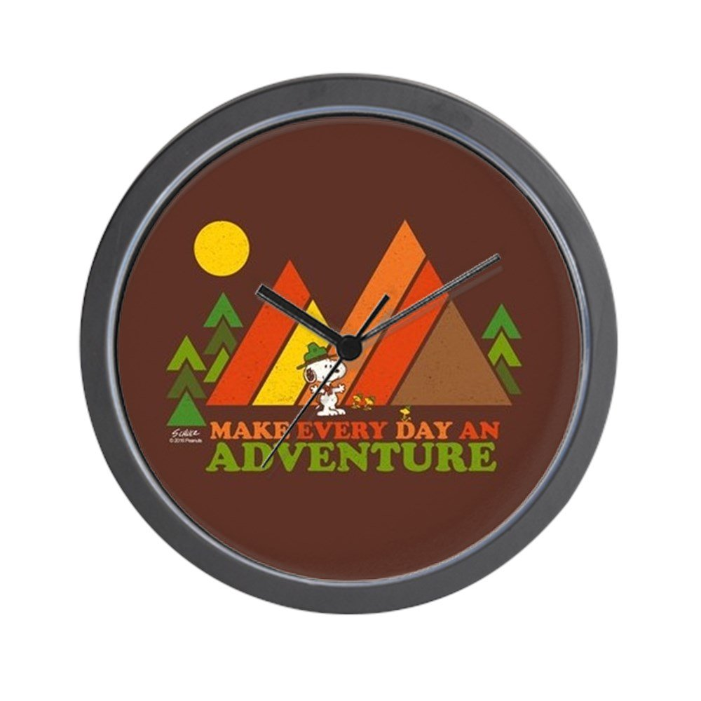 CafePress - Snoopy-Make Every Day An Adventure - Unique Decorative 10'' Wall Clock