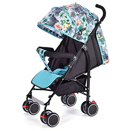 &Carrito de bebé Carrito de bebé portátil mini paraguas para niños carrito (Color : 1
