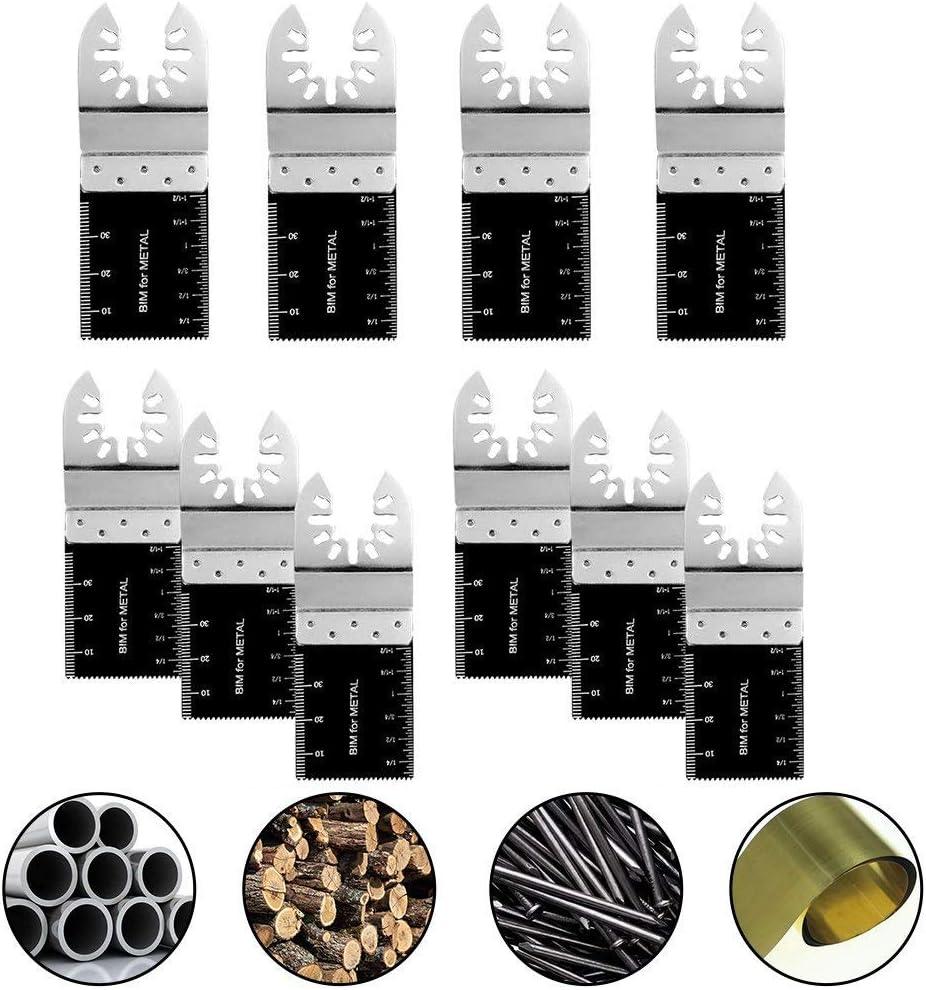 5Pcs 35mm Bi-metal Multi Tool Saw Blades For Bosch Multitool FEIN   z j