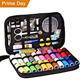 Arts & Crafts : Innocheer Sewing Kit with 97 Sewing Accessories, 24 Spools of Thread, 24 Colors, Mini Sewing Kits for Beginners, Traveler, Emergency, Whole Family to Mend and Repair