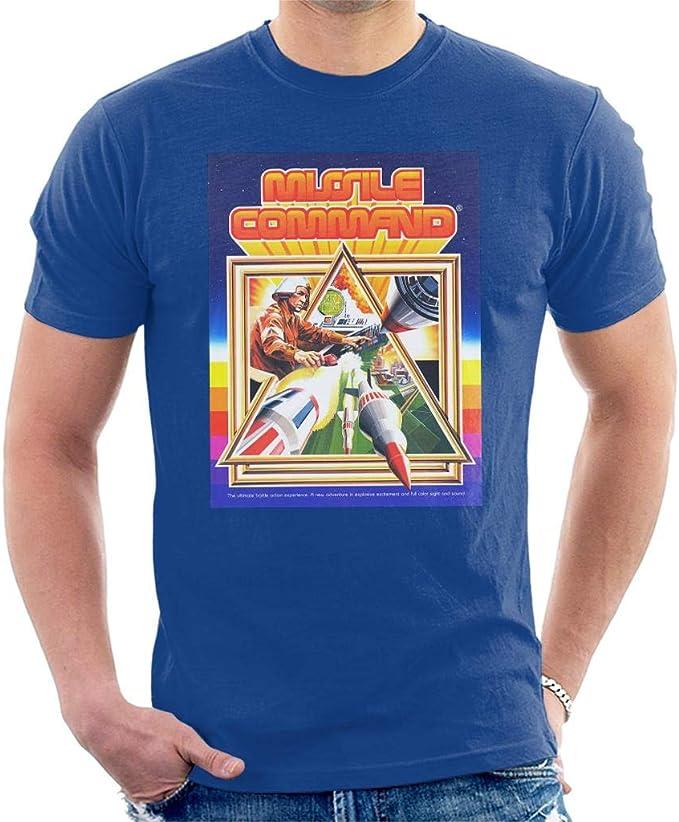 Missile Command Box Art T-shirt for Men