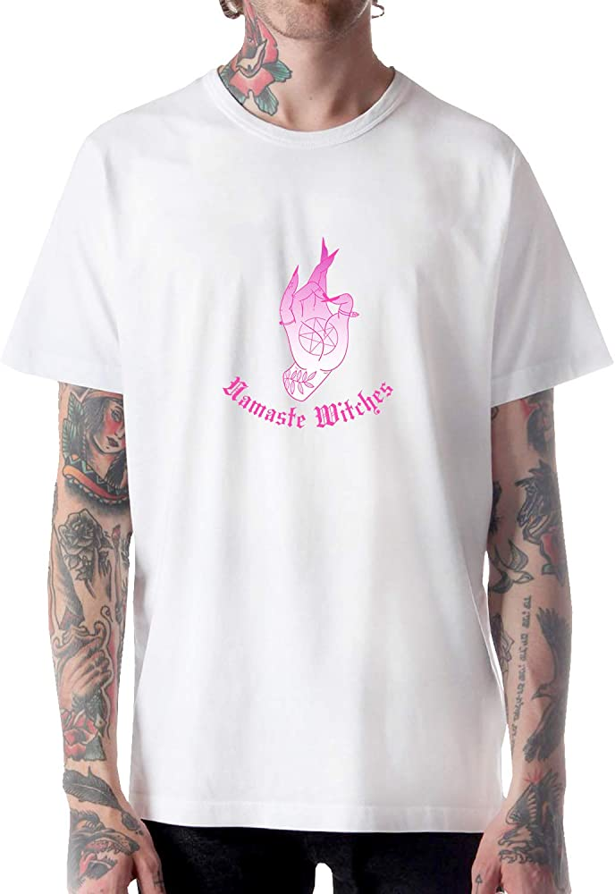 KOSMINE Yoga Namaste Witches Fire_A0700 Shirt Tshirt para ...