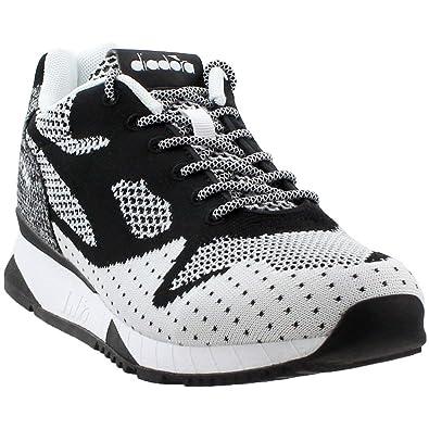Diadora Mens V7000 Weave II Athletic   Sneakers Black 517433c8d3d