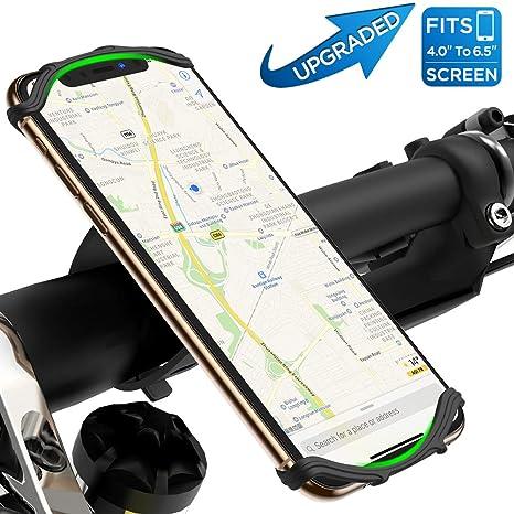 Soporte móvil bicicleta & moto 360° Rotación para iPhone X/ 8 Plus/ 8