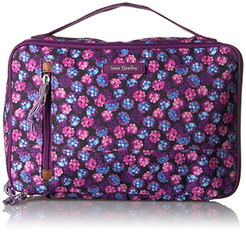 Vera Bradley Lighten up Large Blush and Brush Case