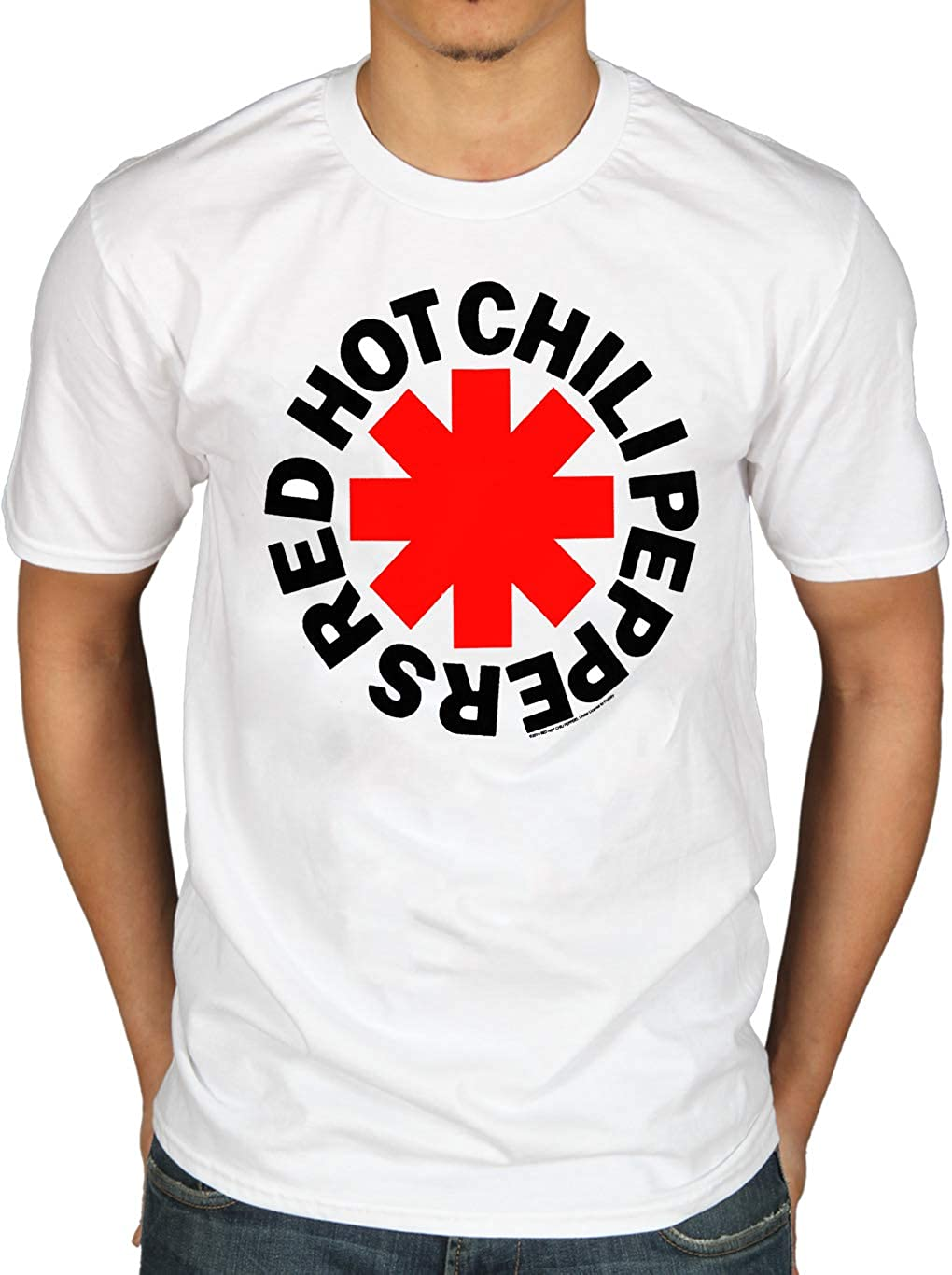 AWDIP Offiziell Red Hot Chili Peppers Asterisk T-Shirt