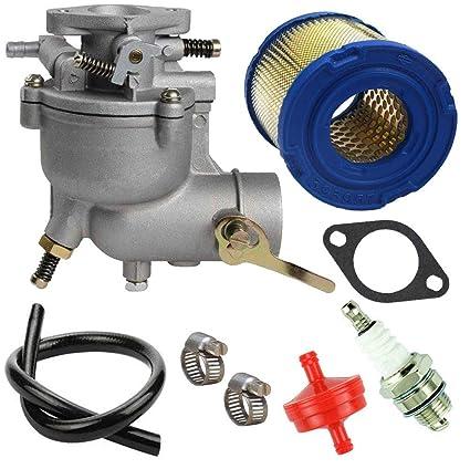 Amazon.com: TOPEMAI 390323 - Carburador para motores Briggs ...