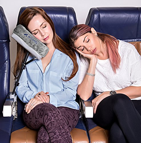 Aluminum Passenger Coach - JetComfy Travel Pillow - The ONLY travel pillow that FULLY SUPPORTS your head and neck