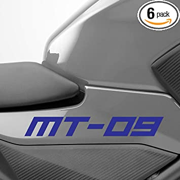 Gloss Blue Motorcycle Superbike Sticker Decal Pack Waterproof for Yamaha YZF R6