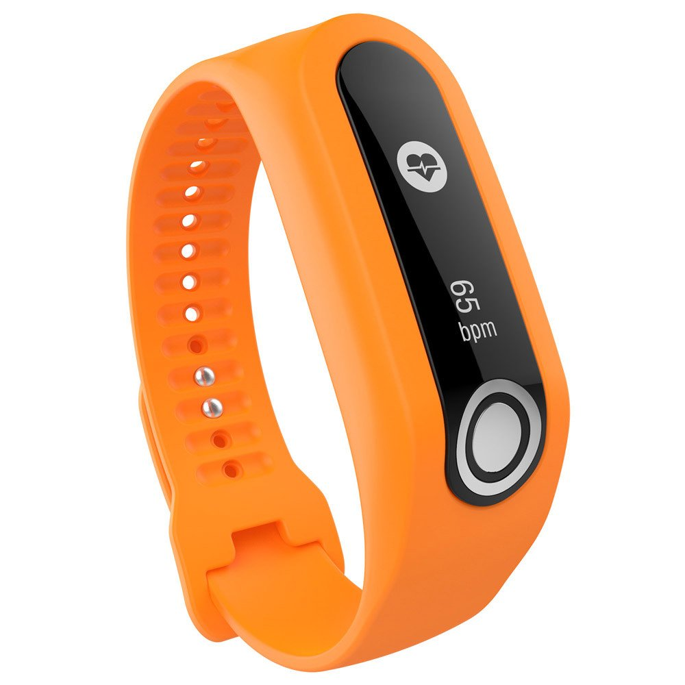 CSSD Clearance Fashion Replacement Silicone Watch Bands Strap For TomTom Cardio Activity Tracker (Orange)